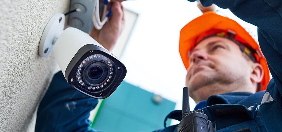 Kameraövervakning för din säkerhet